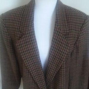 Womens Sag Harbor Wool Blend Jacket 22W Vintage